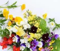 Bloemen-eetbaare
