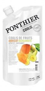 Abrikozen Bergeron fruitcoulis