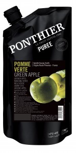 Appel groen Granny Smith fruit puree