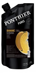 Bananen fruit puree