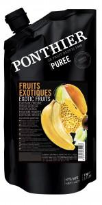 Exotisch fruit puree