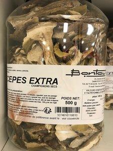 Cepes extra séchées - gedroogd - secs